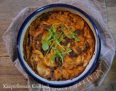 Kääpiölinnan köökissä: Helppo härkis-texmexlaatikko Curry, Veggies, Ethnic Recipes, Food, Curries, Vegetable Recipes, Vegetables, Essen, Meals