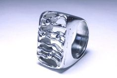 Silver Ring - Anillo Plata 925 https://www.facebook.com/LeonorBroideJoyeriaContemporanea