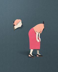 Katman Katman Kağıt İllüstrasyonlar   #paperillustration #illustration #illustrator #editorialillustration #illüstrasyon #illüstratör