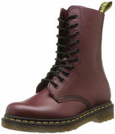 Martens 1490 Smooth 59 Last Unisex-Erwachsene Combat Boots Dr. Martens, Dr Martens Stiefel, Botas Dr Martens, Dm Boots, Lace Up Boots, Combat Boots, Shoe Boots, Ankle Boots, Shoe Bag
