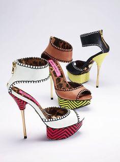 Betsey Johnson Stiletto Platform Sandal. The white are my fave!!