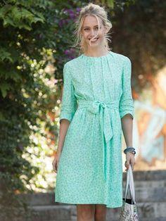 102A-032016-B, burda style, Kleid, Nähen, DIY