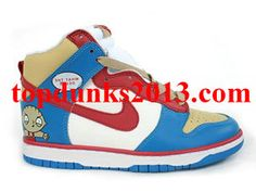 Good Cartoon High Top Nike Dunk What The Deuce