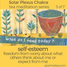 7 Days 7 Chakras Tea Meditation Series #chakras #solarplexuschakra #chakrahealing #chakrateameditations #7days7chakras