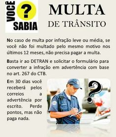 Multa de Trânsito Leis, Law And Order, Better Life, Life Hacks, Infographic, Knowledge, Humor, Education, Learning