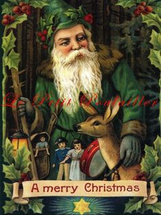 Merck Family Old World Christmas Set of 10 Classic Postcards ... in my shop now!