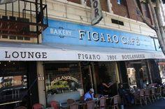 Figaro Bistrot in Los Feliz - amazing pastry and breakfast