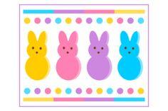 FREE Easter Peeps Printables
