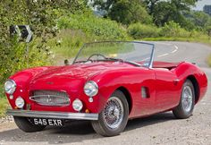 1956 Allard Palm Beach Mk II for auction and for sale by H&H Classics at Chateau Impney, July 2015. Read specs, prices, and more on ClassicCarWeekly.net...
