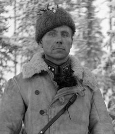"""Served in the French Foreign Legion between 1930 and before serving in the Finnish Army during Famed for his successful defense in the Battle of Kollaa. Also known as the """"Terror of Morocco. French Foreign Legion, Man Of War, Royal Marines, Military Pictures, Military History, World War Two, Wwii, Army, Troops"""