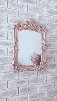 NEW French Provincial mirror just been added to the shop! Frame has been painted with blush pink chalk paint and then finished with dark wax! Chalk Paint Mirror, Mirror Painting, Mirror Art, Diy Mirror, Painted Mirror Frames, Long Mirror, Painted Picture Frames, Vintage Picture Frames, Victorian Mirror