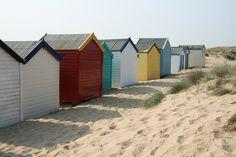 Beach Huts in Southwold Suffolk