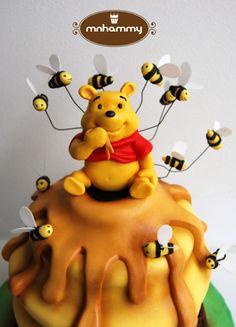 Winnie the pooh by Mnhammy by Sofia Salvador