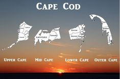 You Know the Difference Between Upper Cape, Mid Cape, Lower Cape and Outer Cape Cape Cod Vacation, Vacation Trips, Vacation Spots, Dream Vacations, Cape Cod Massachusetts, East Coast Road Trip, Ocean Sounds, All I Ever Wanted, Nantucket