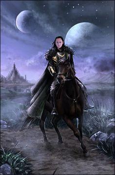 "Tom Hiddleston ""Loki"" Fan art From http://marygraz.deviantart.com/art/Night-trip-444884580 Tom's face mash-up by me"