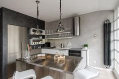 A Renovated Attic Apartment in Prague in interior design architecture Category