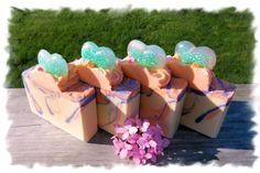 Angel's Dance Goat Milk Soap  $6.25  www.alifedeliberatesoapco.bigcartel.com