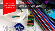 Learn how to make fused glass jewelry | Jewellery in a microwave kiln. Very detailed glass fusing course, video tutorials and instructional videos. Learn at your own pace with all the support you need. Private glass fusing Facebook group included. Join our jewelry making community Now!