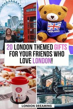 Do you have friends who are planning a trip to London? Or do they simply love the British capital? If you're looking for a special gift for someone who loves London, or is about to travel there, then look no further! In this London gifts guide I've put together a compilation of all the best London themed gifts that you can get your London obsessed friends, as well as useful gadgets they can use on their next trip to London! #london #londongiftguide #londonpresents #uk #europe #giftguide #present