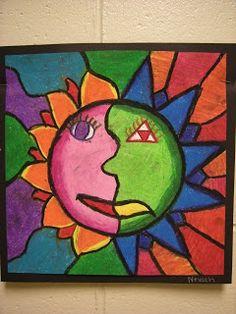 4th Grade Aztec Sun