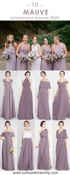 Purple Bridesmaid Dresses Tulle Chantilly S Collection Of 100 Bridesmaid Dresses Ideas In 2020,Nordstrom Wedding Guest Dresses