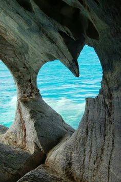 Heart stone river~ change the way you look at things and things you look at will change;) an opening within the stone takes on the shape of the heart, representing love and the vast innocence of the ocean:)
