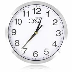 Promotional Executive Aluminum Wall Clock in New Zealand For more connect http://indent.seeit.co.nz/executive-aluminum-wall-clock-p-5094.html