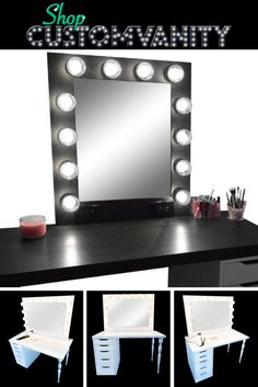 Shop for your perfect vanity to get ready for those special occasions!