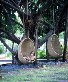 swinging pods