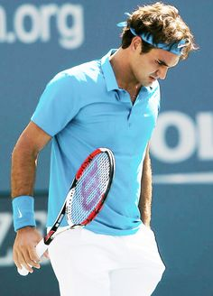"""Throwback: Roger Federer ↳ Day One of the U.S. Open ⇛ August 27, 2007 """