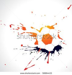vector abstract football design illustration