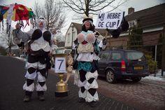 carnaval duo optocht wij hebben de cup