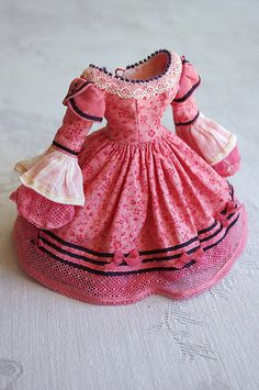:: Crafty :: Doll :: Clothes :: For Gina ≈ Pink Alice ≈ | by Kikihalb ♧ Forest~Tales ♧