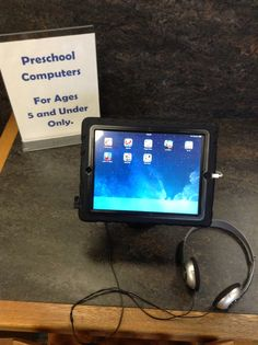 Have you seen our new tablets for kids 5 and under?  Stop by the children's department w/ your preschooler or toddler!