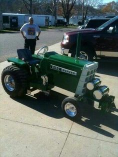 Was looking for a lawn tractor custom golf cart, maybe this guy will make one for me.