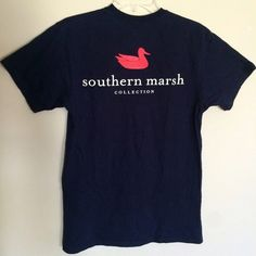 Southern Marsh graphic Tee Unisex - Southern Marsh graphic T-shirt. Perfect for any male or female •color: navy •size: Small Southern Marsh Tops Tees - Short Sleeve