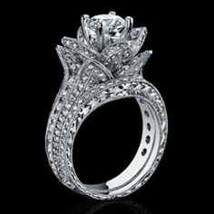 Tiffany EnchantFlower Ring Engagement and Weddings