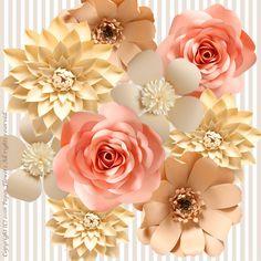 作りかけのウォールフラワー の画像|Paper Flowers 〜ペーパーフラワーデザイナー 前田京子(日本ペーパーアート協会)〜