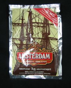 Sample package of Pipe tobacco from Holland unopened