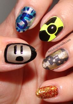 """Hunger Games"" Nail Art"