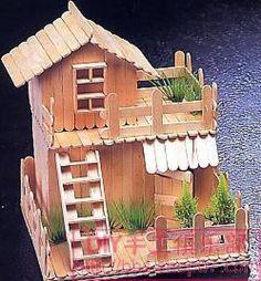 Casa de palitos