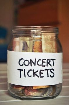 Obviously you will need tickets ;) Most worthwhile way to spend money in my opinion