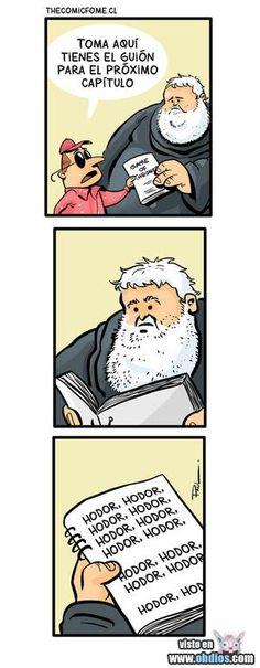Solo para entendidos en materia de Juego de Tronos