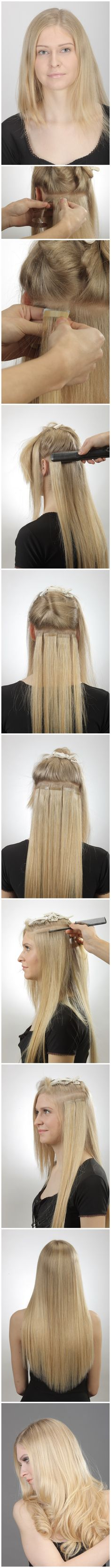 Ron King Invisible Hair Extensions Trendy Hairstyles In The Usa