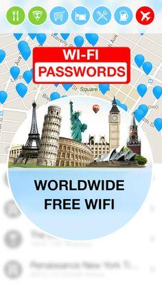 WiFi Map — Passwords - screenshot