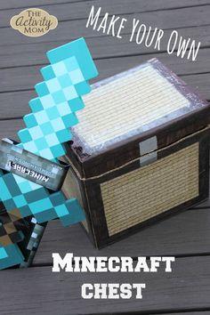 DIY Minecraft Chest