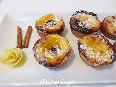 Receta Pasteis de nata. (Pasteis de Belém) - via Belenciaga paso a paso #Portugal