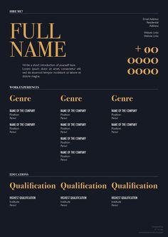 Free Elegant Resume Template For Designers Marketing Hr I T Professionals 3