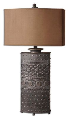 Uttermost Shakia Olive Bronze Table Lamp