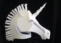 I'd like to see this one made of thick card rather than plastic. I'm not sure I like the mane, though.